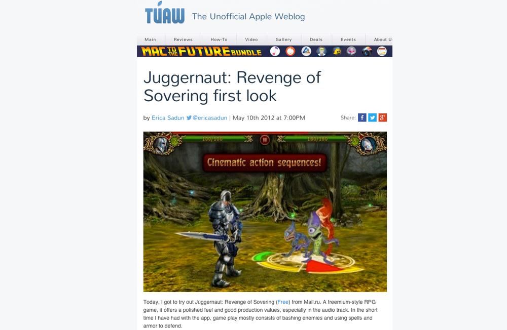 Juggernaut Revenge of Sovering